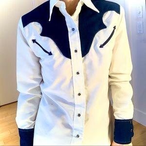 MISS RODEO AMERICA BRAND Button Down Shirt